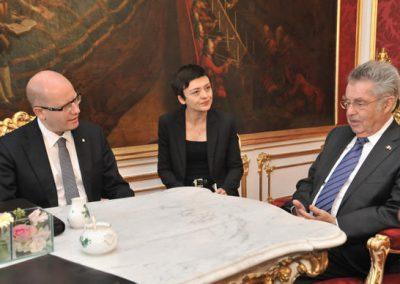 Premierminister Sobotka in Wien, 3.6.2014