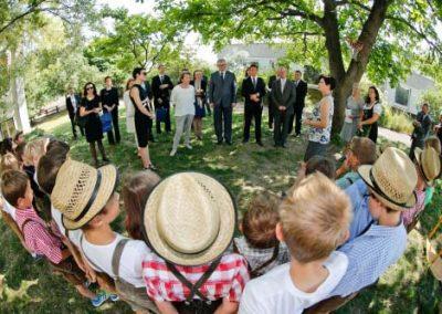 Grenzlandtreffen -Bundesrat der Republik Österreich und Senat der Tschechischen Republik, Poysdorf, 12.06.2015