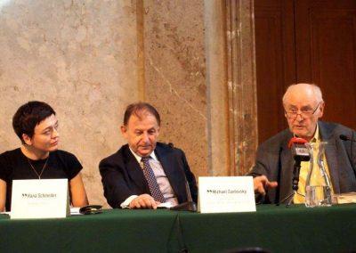 Pressekonferenz zu Václav Havel im Theatermuseum