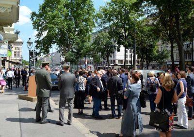Feierliche Enthüllung der Gedenktafel für Josef Hlávka, 06.06.2016
