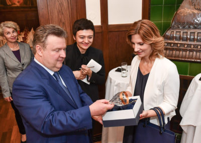 Brünner Bürgermeisterin Dr. Markéta Vaňková beim Wiener Bürgermeister Dr. Michael Ludwig